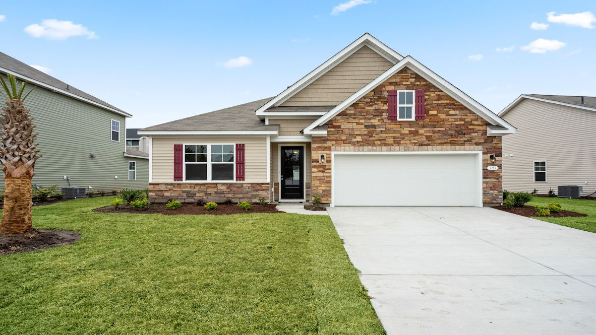 Exterior featured in the CLAIBORNE By D.R. Horton in Myrtle Beach, SC