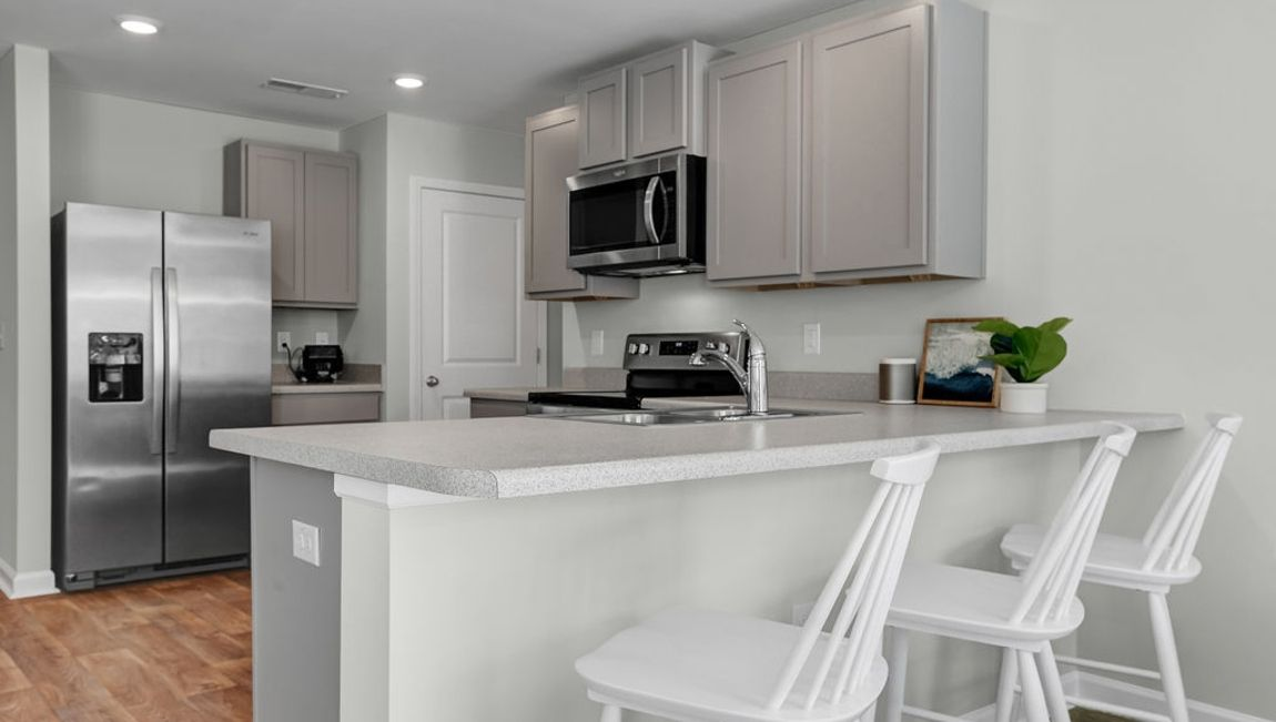 Kitchen featured in the MACON By D.R. Horton in Wilmington, NC
