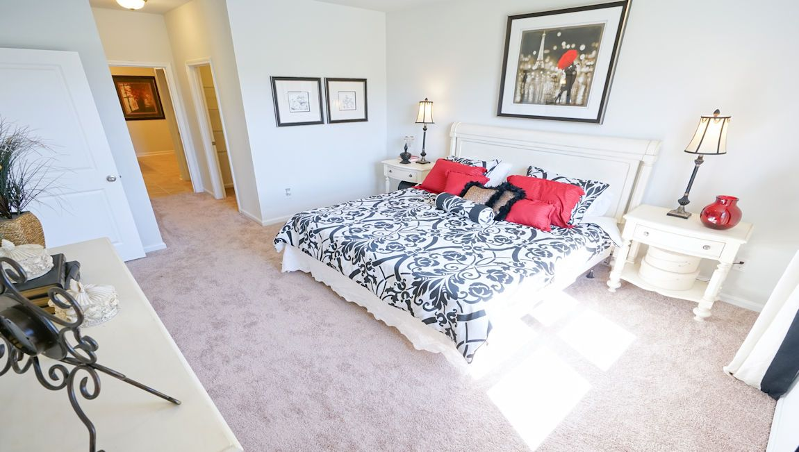 Bedroom featured in the ARIA By D.R. Horton in Wilmington, NC