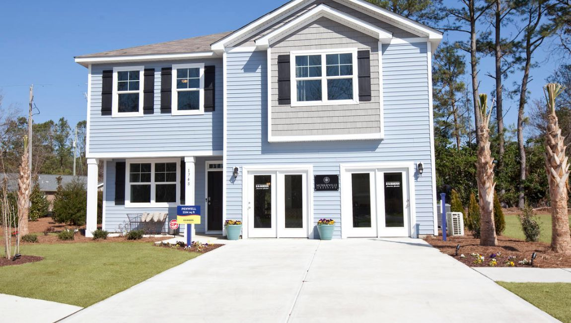 Exterior featured in the PENWELL By D.R. Horton in Wilmington, NC