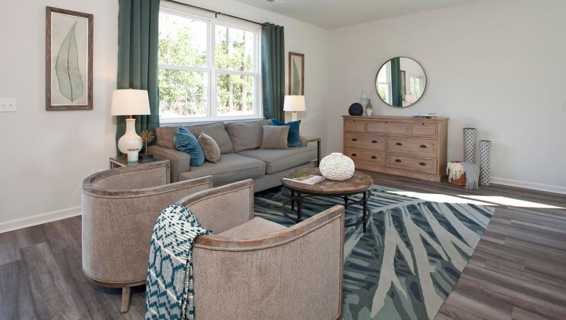 Living Area featured in the PENWELL By D.R. Horton in Wilmington, NC