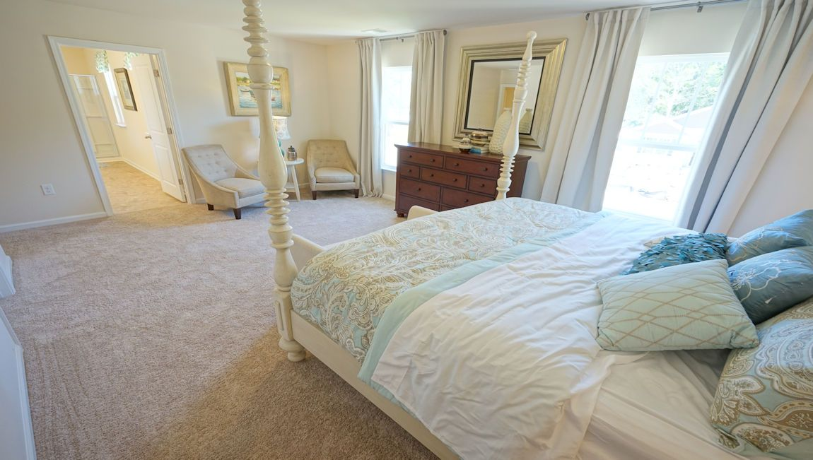 Bedroom featured in the GALEN By D.R. Horton in Wilmington, NC