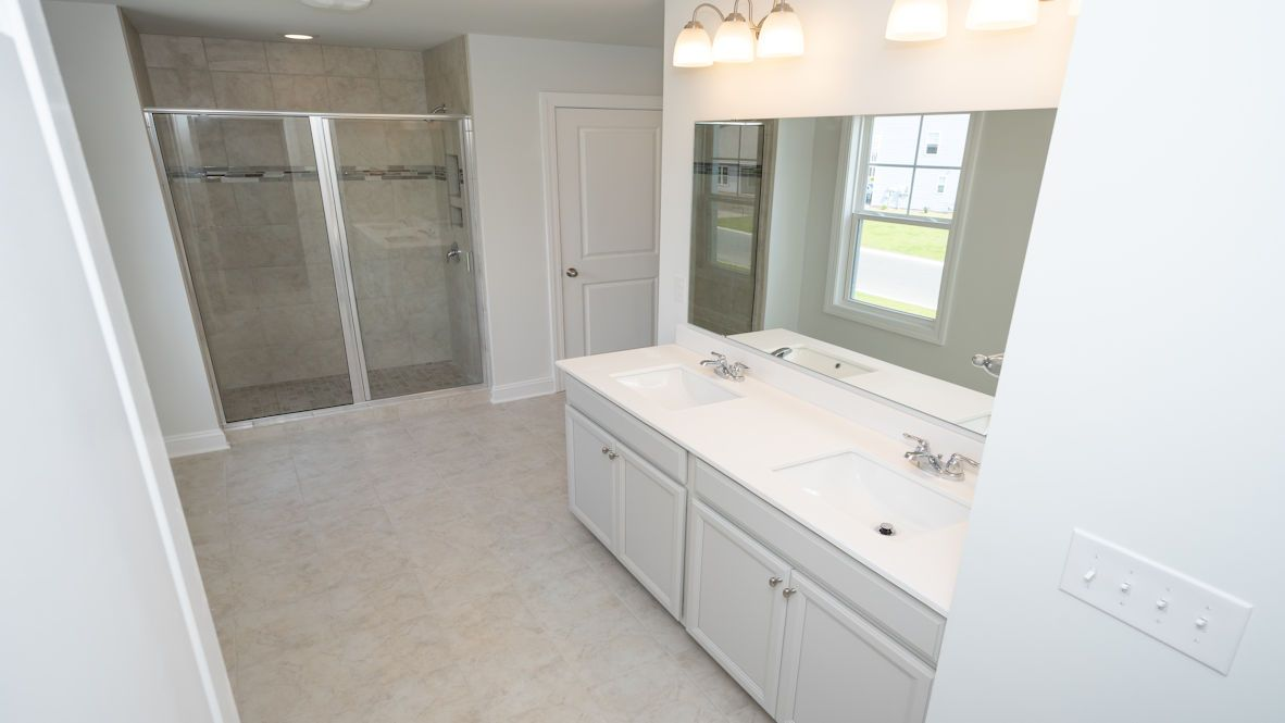 Bathroom featured in the GLYNN By D.R. Horton in Jacksonville, NC