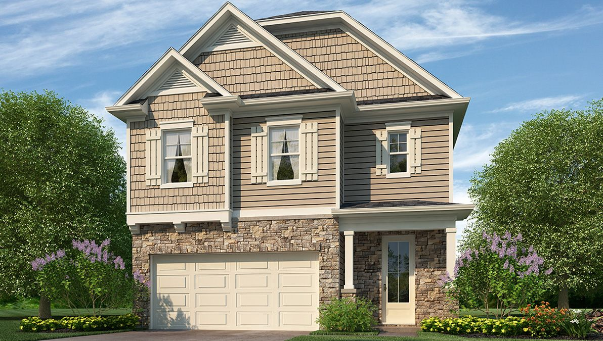 Exterior featured in the WOODSTOCK By D.R. Horton in Jacksonville, NC