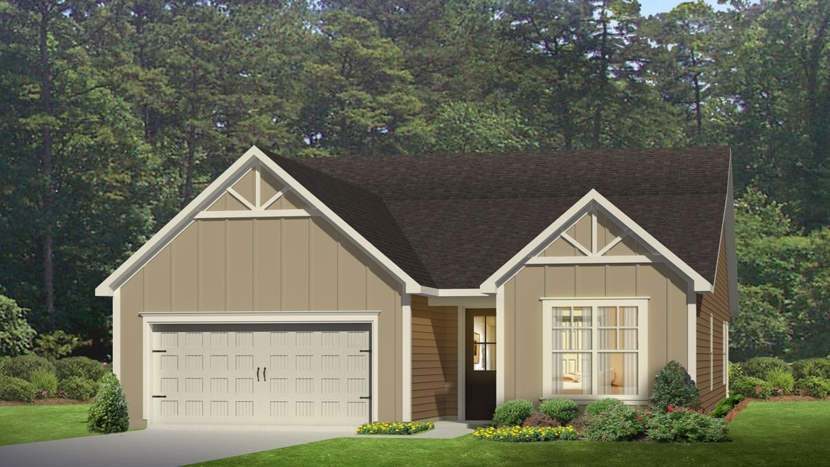 Exterior featured in the LITCHFIELD By D.R. Horton in Jacksonville, NC