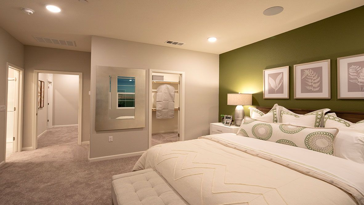 Bedroom featured in the Residence 1 By D.R. Horton in Oakland-Alameda, CA