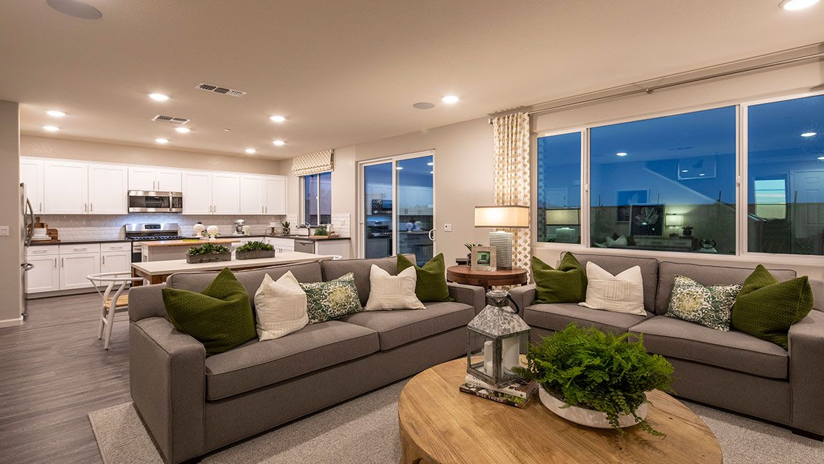 Living Area featured in the Residence 1 By D.R. Horton in Oakland-Alameda, CA