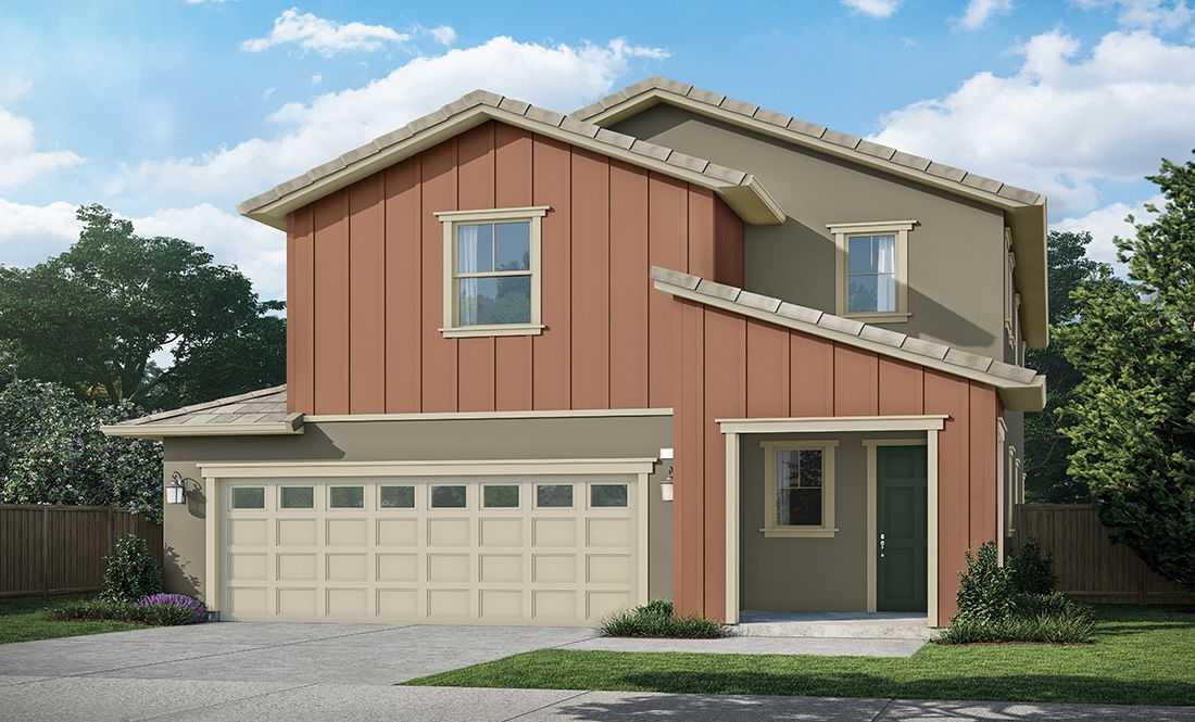 Exterior featured in the Residence 4 By D.R. Horton in Oakland-Alameda, CA