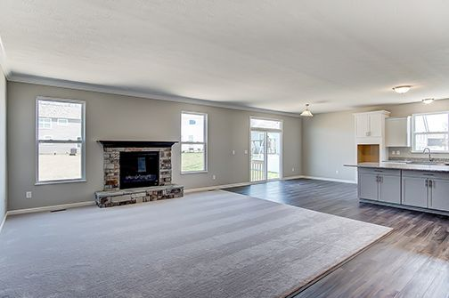Living Area featured in the Hawthorne II By D.R. Horton in Columbus, OH
