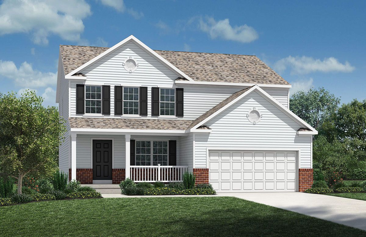Exterior featured in the Monterey By D.R. Horton in Columbus, OH