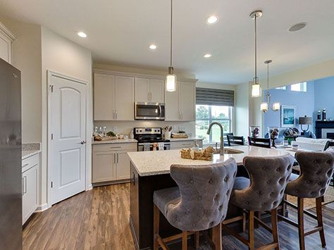 Kitchen featured in the Stockton By D.R. Horton in Columbus, OH