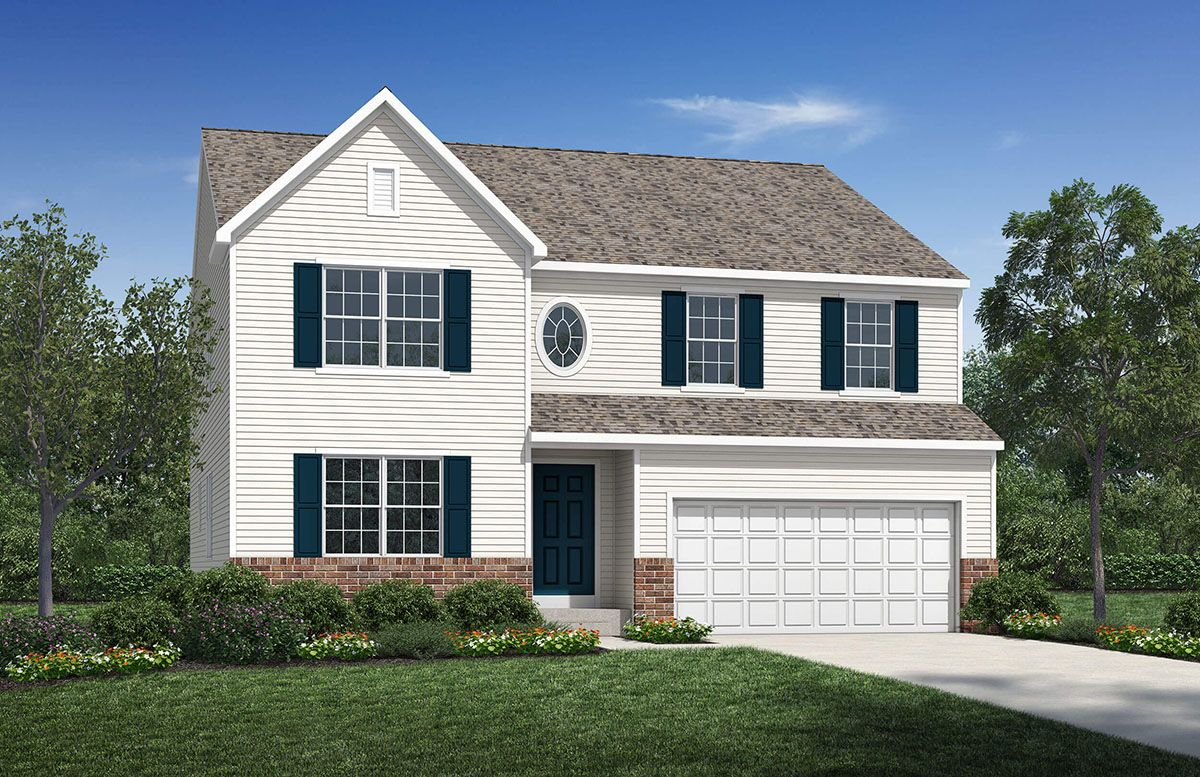 Exterior featured in the Newport By D.R. Horton in Columbus, OH