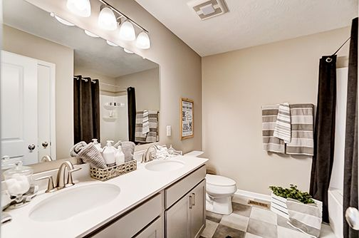 Bathroom featured in the Campton By D.R. Horton in Columbus, OH