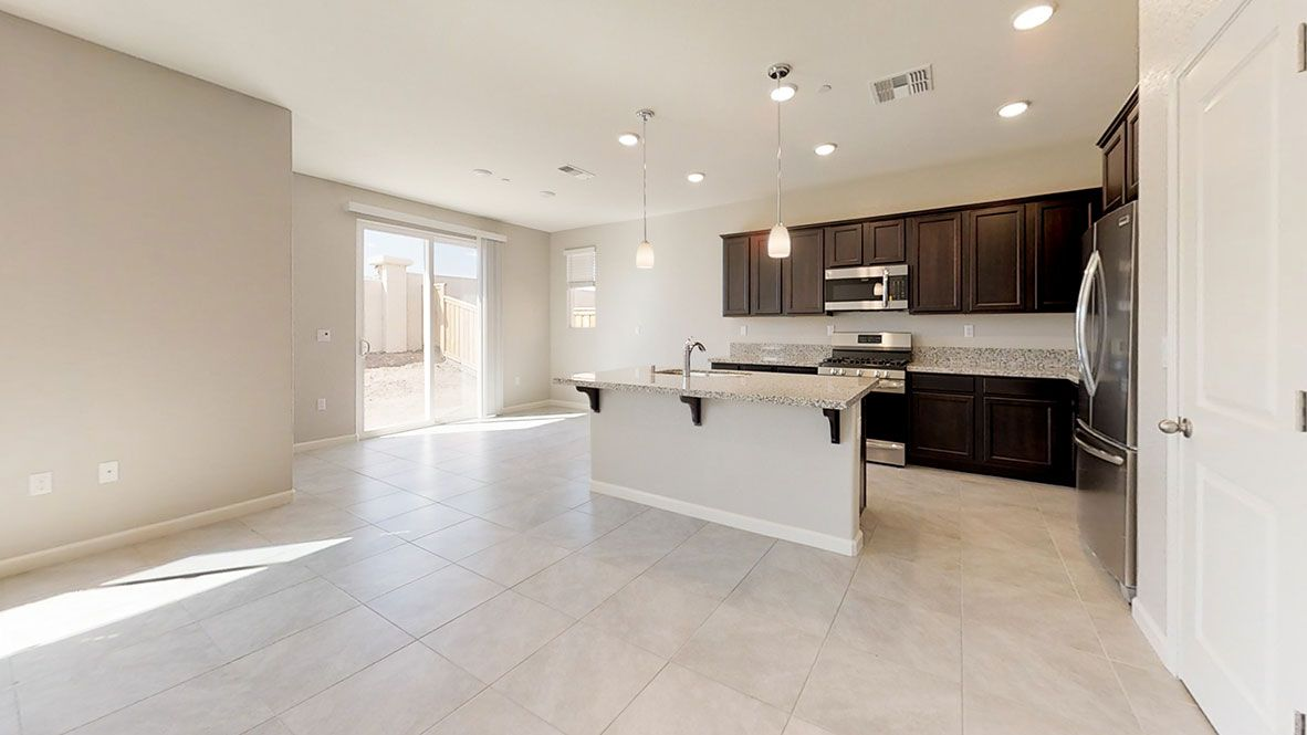 Kitchen featured in the Residence 4 By D.R. Horton in Oakland-Alameda, CA