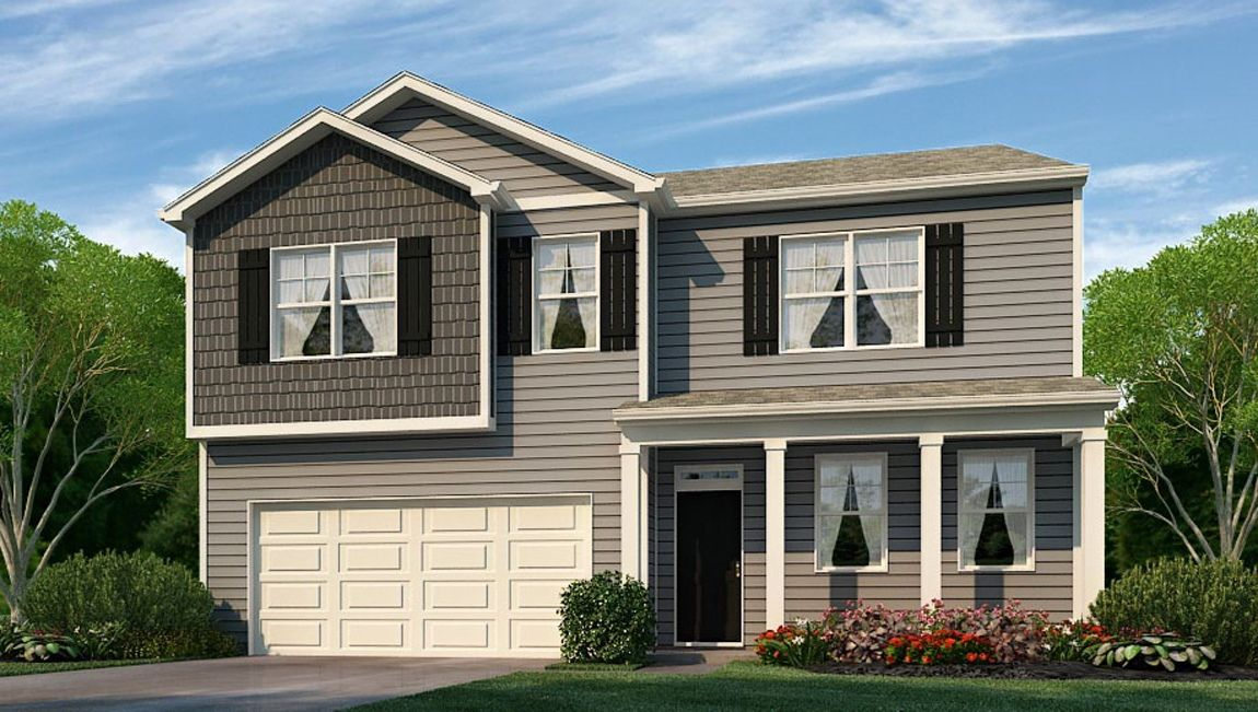 Exterior featured in the HANOVER By D.R. Horton in Wilmington, NC