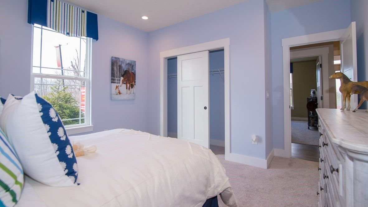 Bedroom featured in the Grandover II By D.R. Horton in Indianapolis, IN