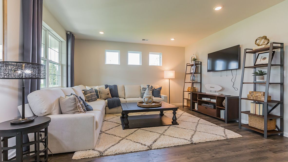 Living Area featured in the Bristol By D.R. Horton in Philadelphia, NJ