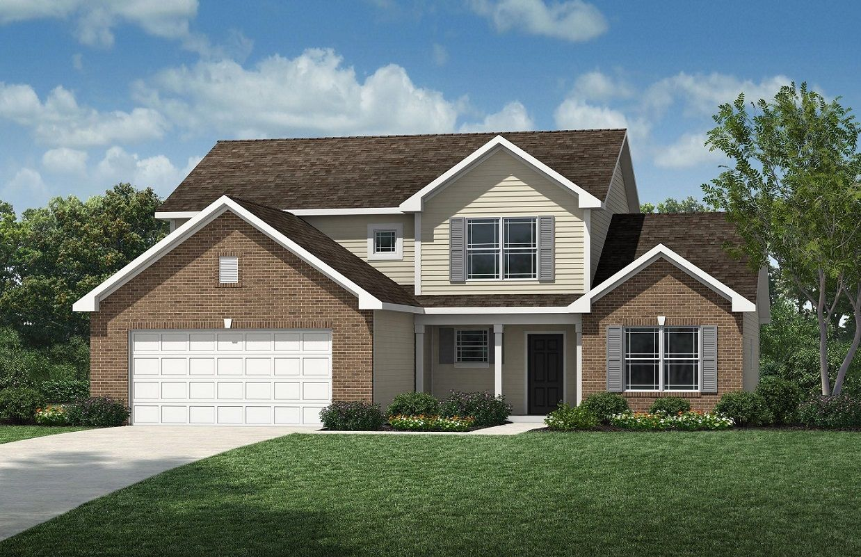 Exterior featured in the Fairfield By D.R. Horton in Fort Wayne, IN