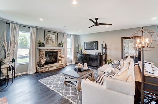 Living Area featured in the Campton By D.R. Horton in Columbus, OH
