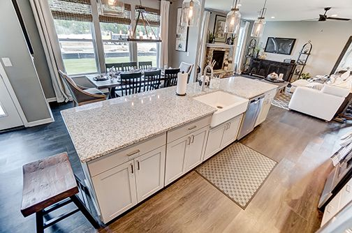 Kitchen featured in the Campton By D.R. Horton in Columbus, OH