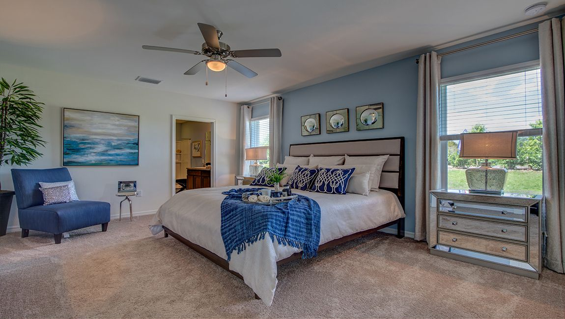 Bedroom featured in the Eastham - Express Homes By D.R. Horton in Fort Myers, FL