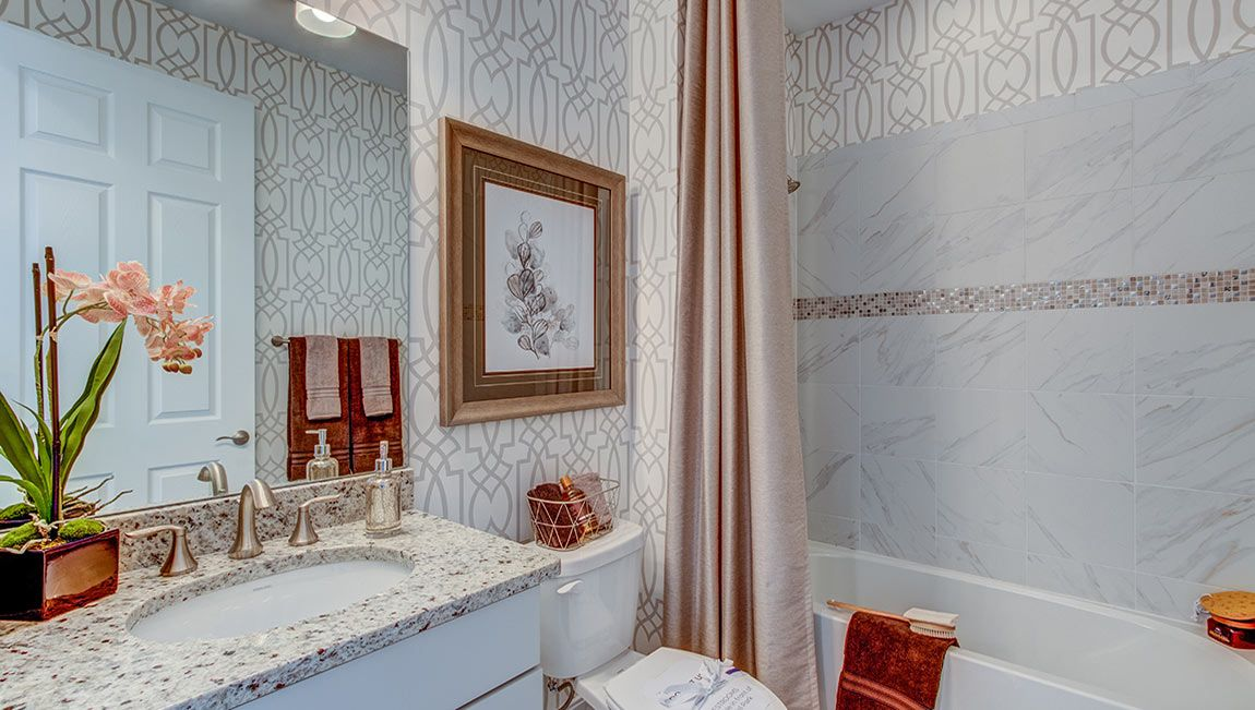 Bathroom featured in the Delray - D.R. Horton By D.R. Horton in Fort Myers, FL