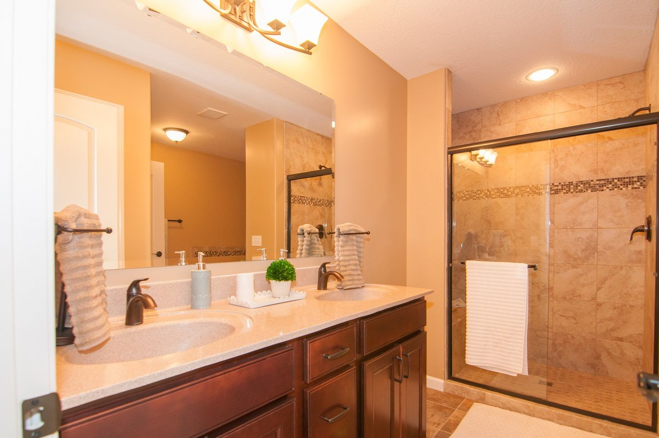 Bathroom featured in the Denali By D.R. Horton in Fort Wayne, IN