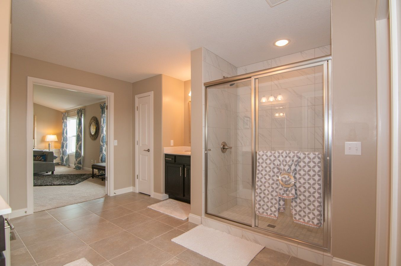 Bathroom featured in the Savannah By D.R. Horton in Fort Wayne, IN