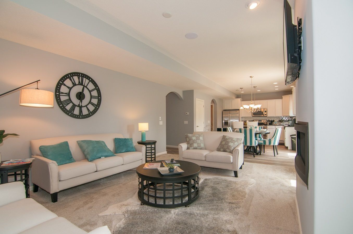 Living Area featured in the Bristol By D.R. Horton in Fort Wayne, IN
