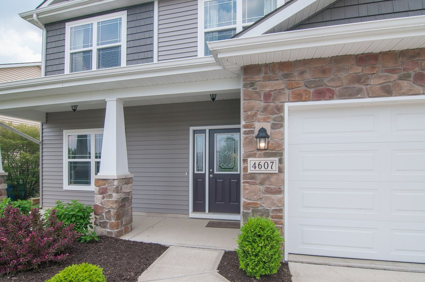 Exterior featured in the Bristol By D.R. Horton in Fort Wayne, IN