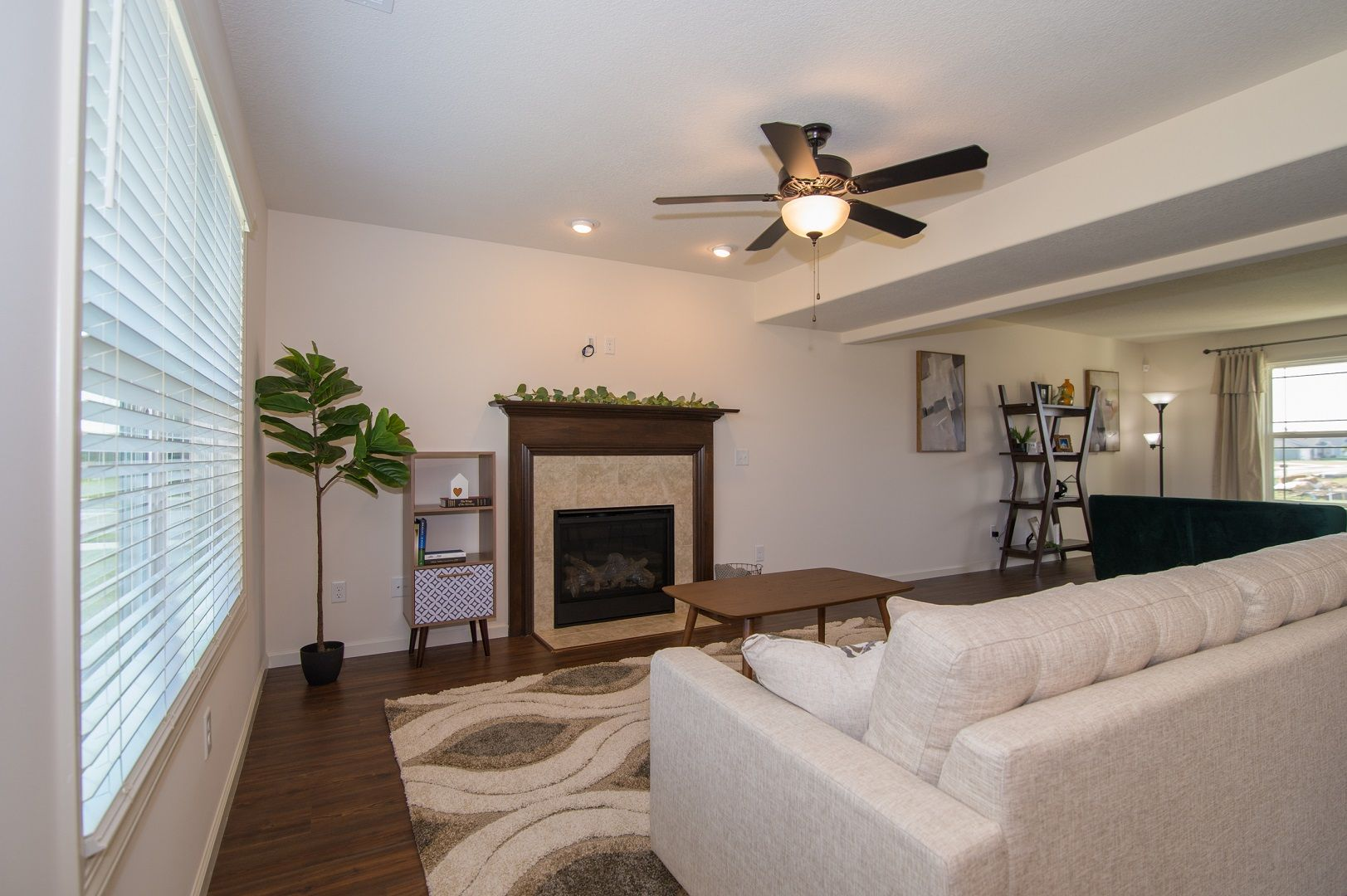 Living Area featured in the Dover By D.R. Horton in Fort Wayne, IN