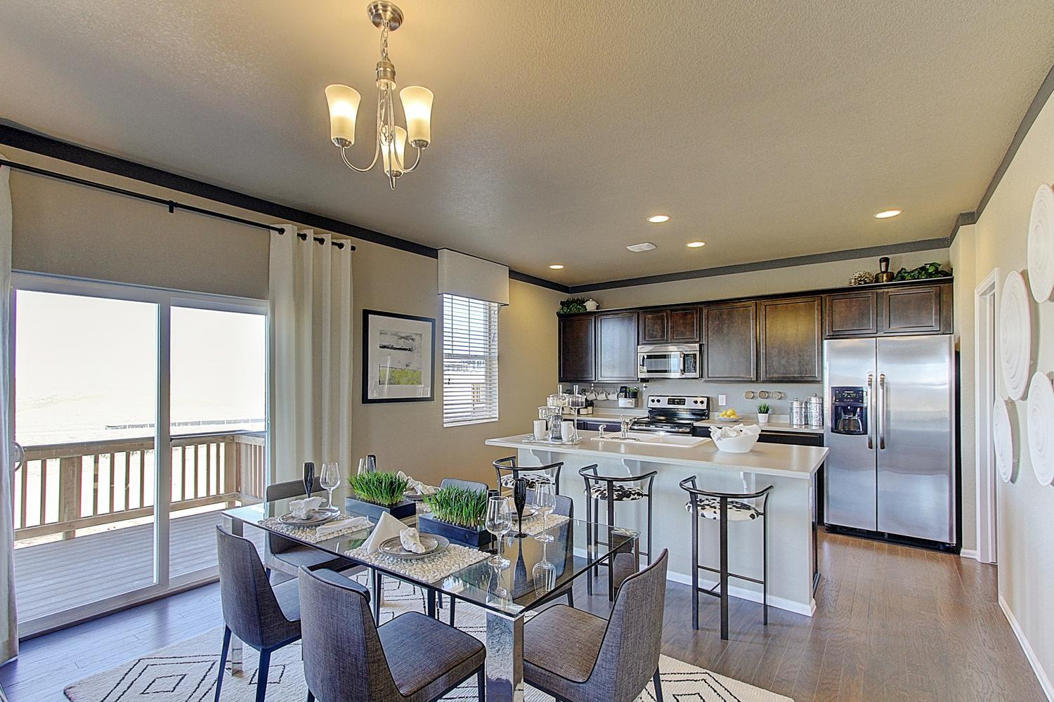 Kitchen featured in the GABLE By D.R. Horton in Denver, CO
