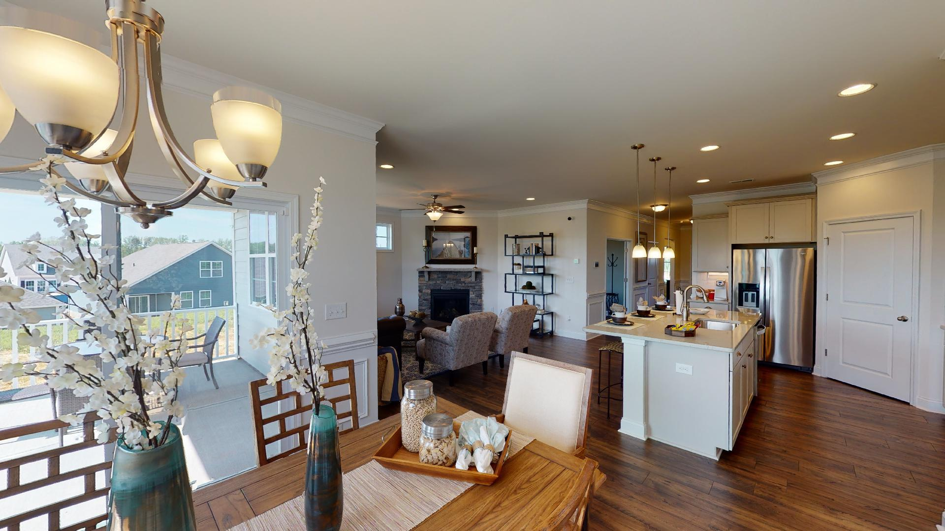 Living Area featured in the Bristol By D.R. Horton in Hickory, NC