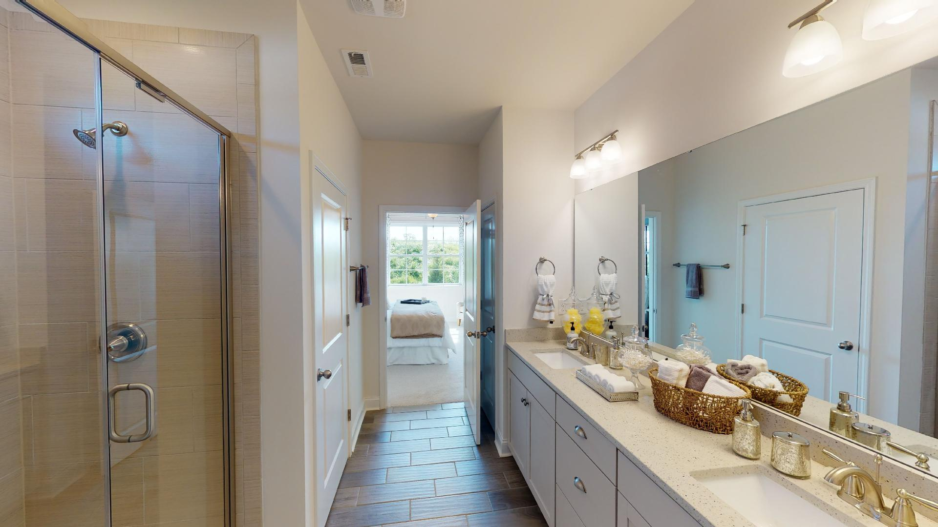 Bathroom featured in the Bristol By D.R. Horton in Hickory, NC