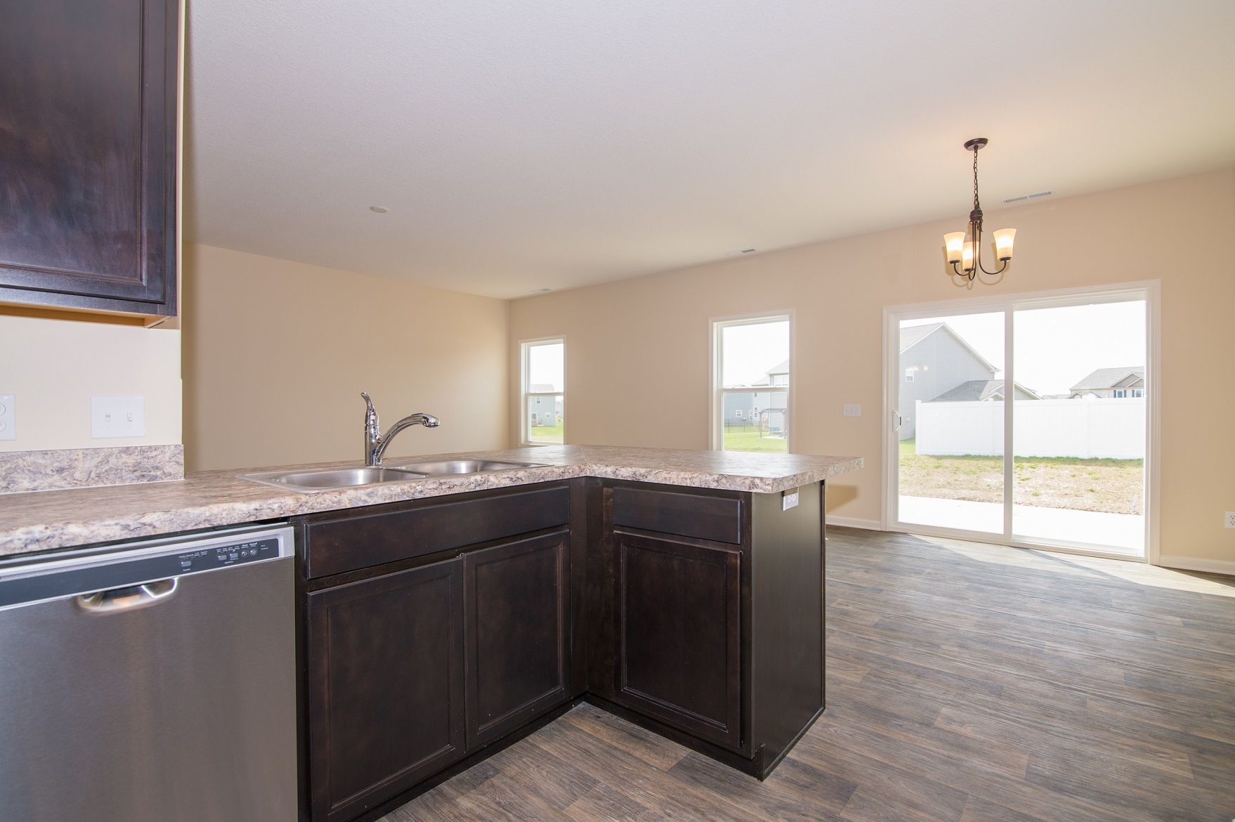 Kitchen featured in the Heyden By D.R. Horton in Fort Wayne, IN