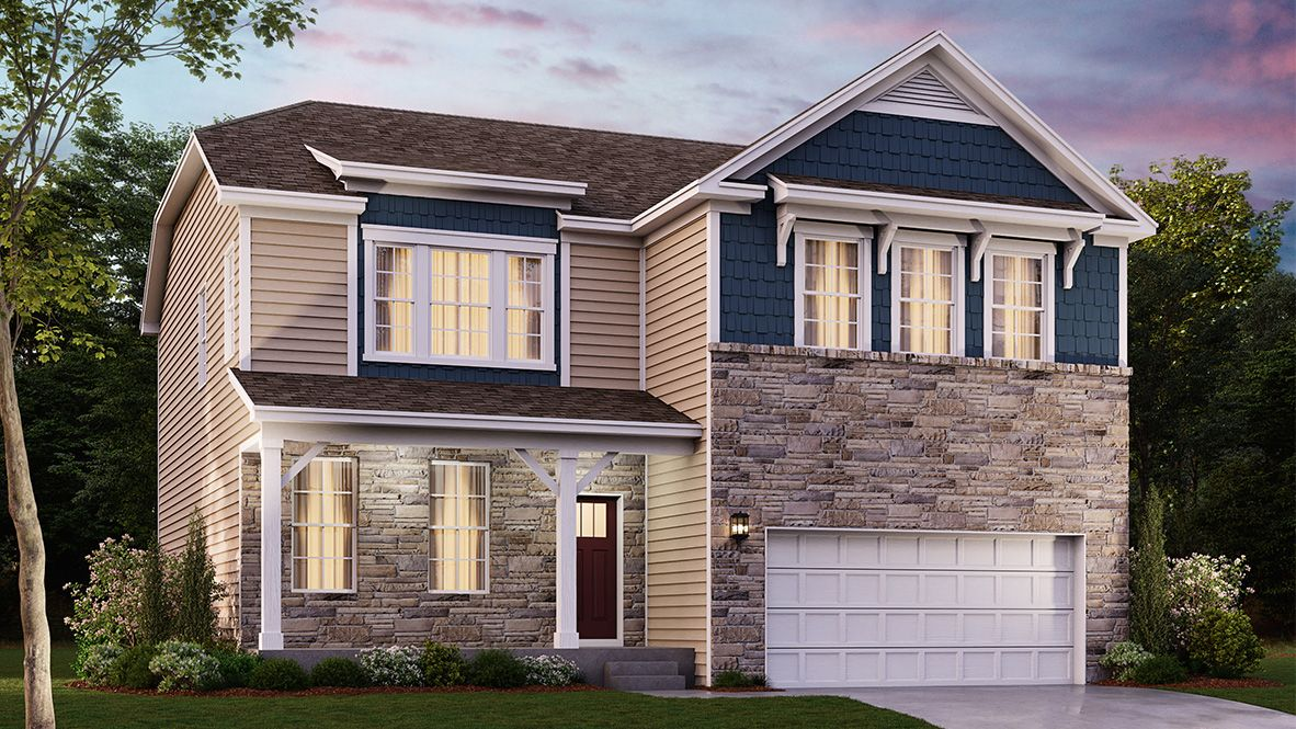 Exterior featured in the HADLEY By D.R. Horton in Baltimore, MD