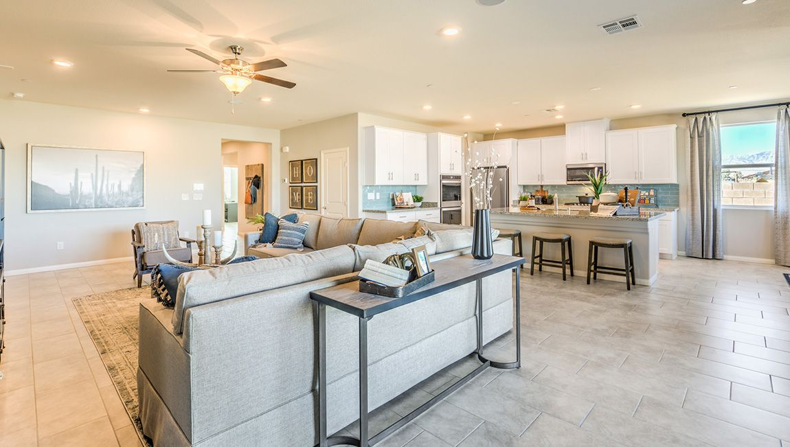 Living Area featured in the 2538 Plan By D.R. Horton in Las Vegas, NV