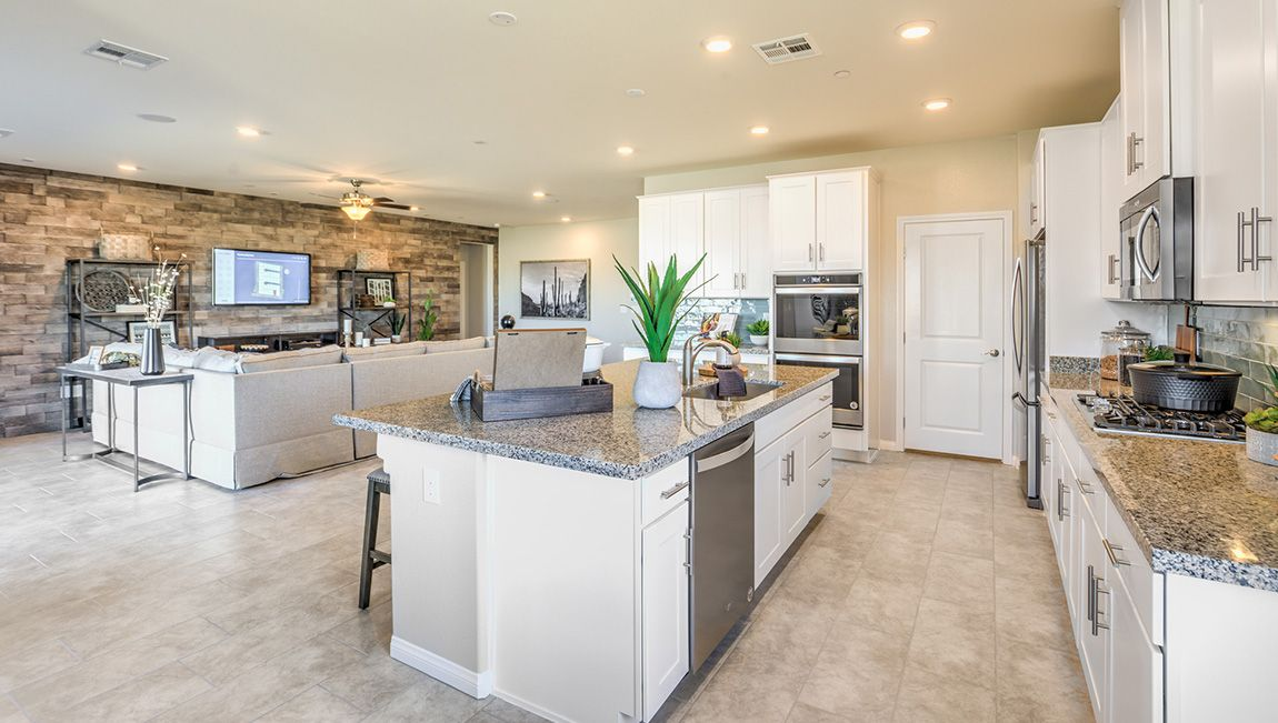 Kitchen featured in the 2538 Plan By D.R. Horton in Las Vegas, NV