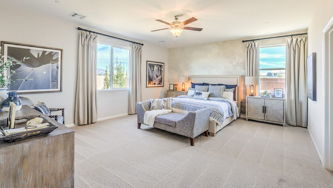 Bedroom featured in the 2538 Plan By D.R. Horton in Las Vegas, NV
