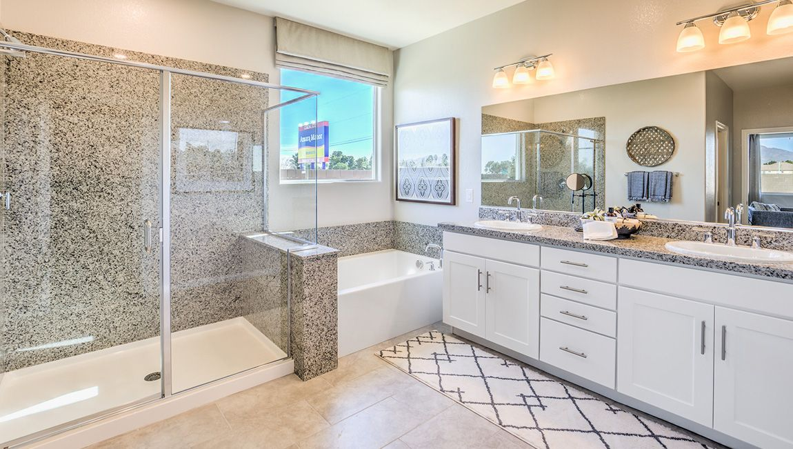 Bathroom featured in the 2538 Plan By D.R. Horton in Las Vegas, NV