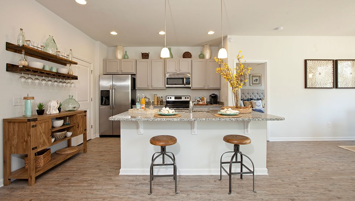 Kitchen featured in the Aria By D.R. Horton in Charleston, SC