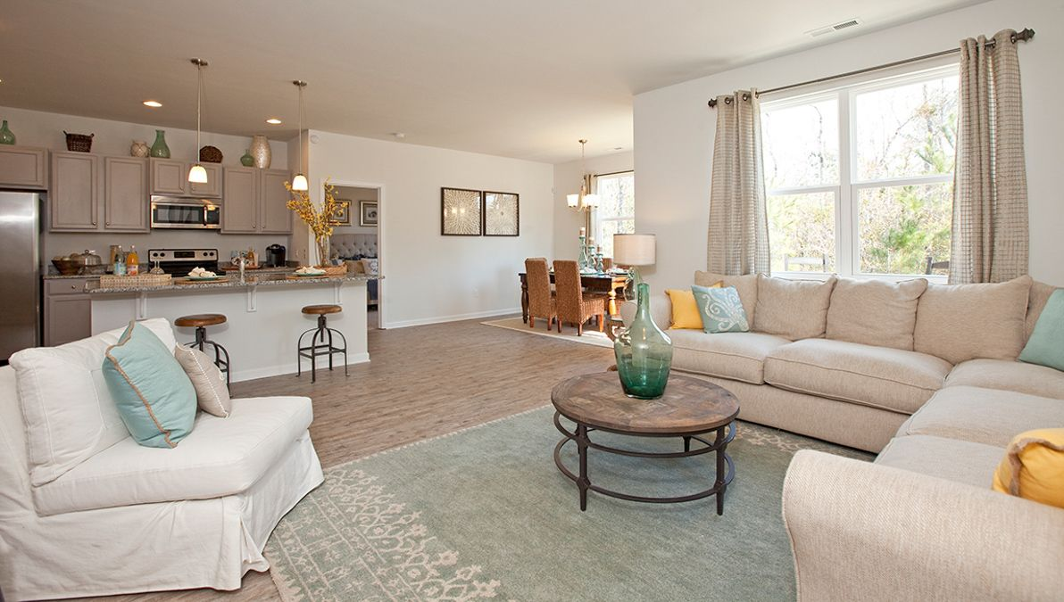 Living Area featured in the Aria By D.R. Horton in Charleston, SC