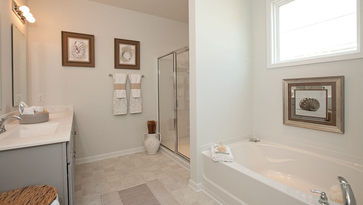 Bathroom featured in the Aria By D.R. Horton in Charleston, SC