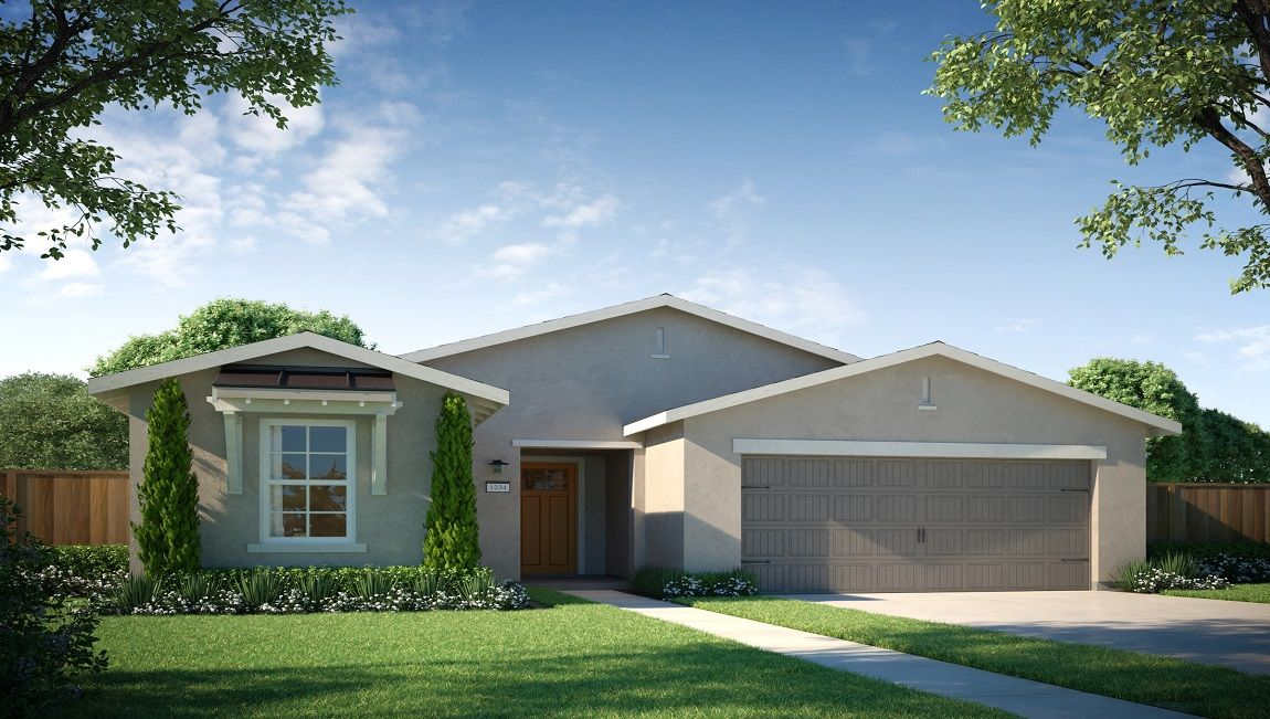 Exterior featured in the Adams By D.R. Horton in Visalia, CA