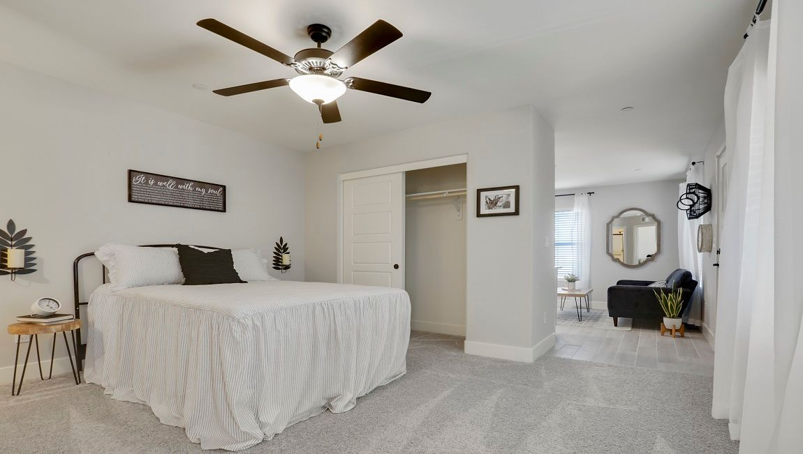 Bedroom featured in the Lincoln By D.R. Horton in Visalia, CA