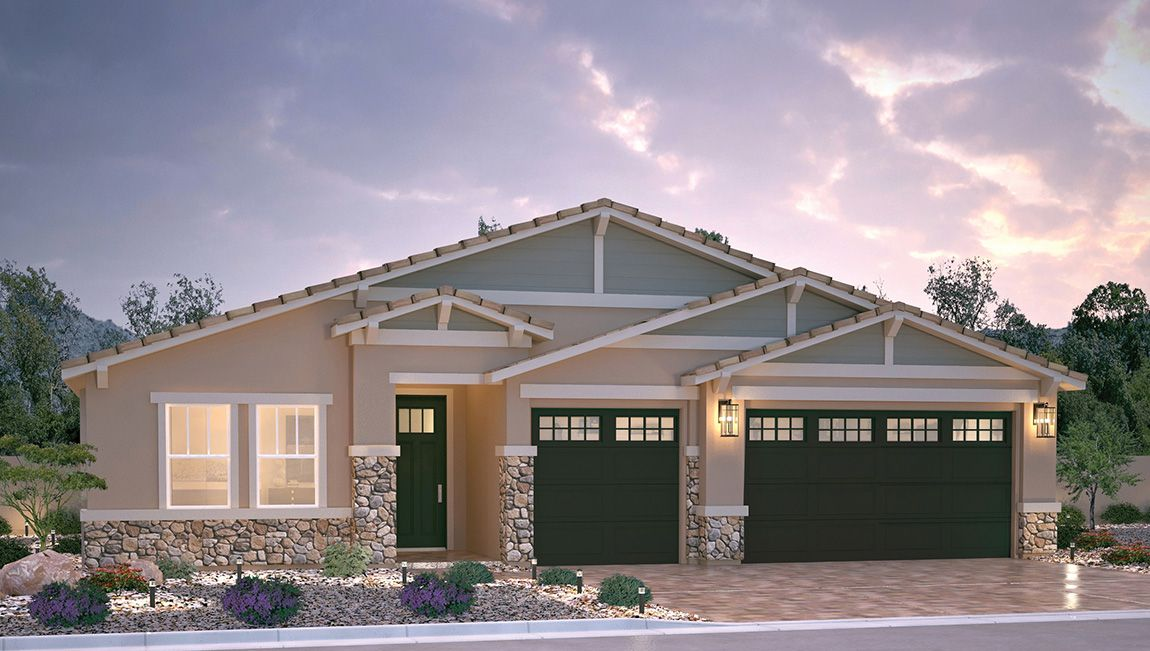 Exterior featured in the 2538 Plan By D.R. Horton in Las Vegas, NV