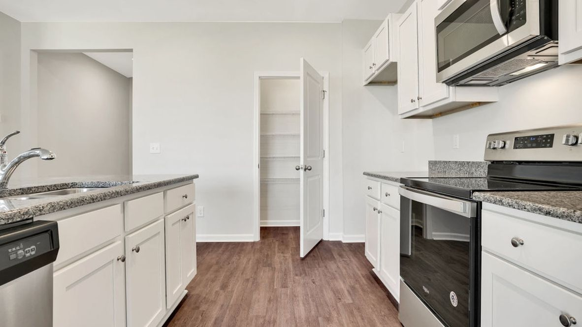 Kitchen featured in the ARIA By D.R. Horton in Wilmington, NC