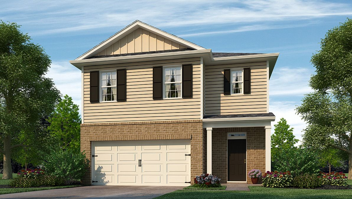 Exterior featured in the ROBIE By D.R. Horton in Wilmington, NC