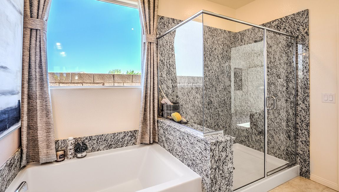 Bathroom featured in the 2754 Plan By D.R. Horton in Las Vegas, NV