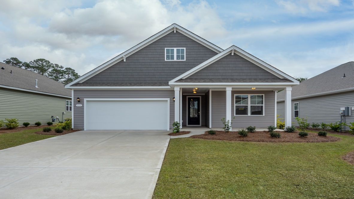 Exterior featured in the LITCHFIELD By D.R. Horton in Myrtle Beach, SC